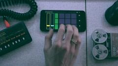Music maker Stock Footage