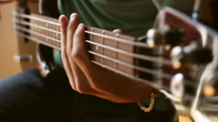 Electrical bass guitar Arkistovideo