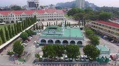 Indian Mosque in Ipoh Stock Footage