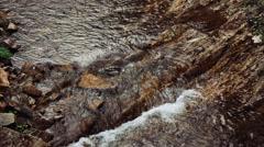 Agura waterfalls. Upper Falls HD - stock footage