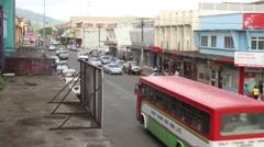 Fiji Street - stock footage