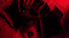 Inside a Darkroom Stock Footage