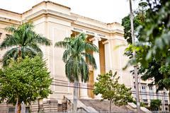 Instituto Benjamin Constant building, Urca, Rio, Brazil - stock photo