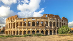 Colosseum time lapse Stock Footage