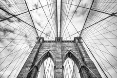 Brooklyn bridge in NYC, USA Kuvituskuvat