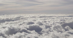 4K: Cloudscape/Background Plate And Fast Moving Clouds Stock Footage
