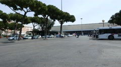 The Termini Station in Rome Stock Footage