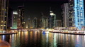 4K Dubai Marina night time lapse, United Arab Emirates 4k or 4k+ Resolution