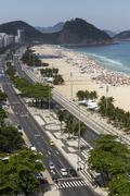 View of Copacabana beach,  Rio De Janeiro, Brazil Kuvituskuvat