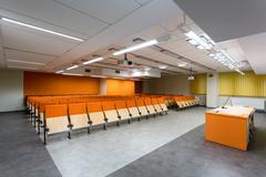 Friendly environment for modern academics Stock Photos