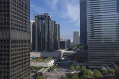 Downtown Los Angeles, California, USA - stock photo