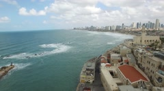 Tel Aviv View from Jaffa 1 of 3  - stock footage