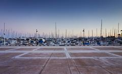 Marina, French Riviera, Cannes, France Stock Photos