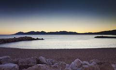 Tranquil scene, French Riviera, Cannes, France Stock Photos