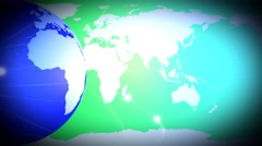 Earth background - stock footage