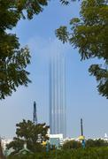 Downtown Abu Dhabi, World Trade Center Mall, Family Park, United Arab Emirates Stock Photos