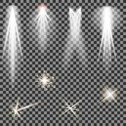 Concert Lighting. Stage Spotlights. Lantern Stock Illustration