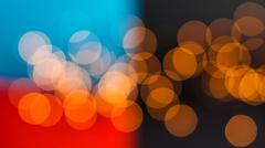 Bokeh multicolored background Stock Photos