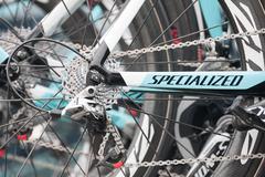 Omega Pharma Quick-step bike - stock photo