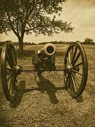 Confederate Canon - stock photo