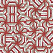 Intricate Tribal Seamless Pattern - stock illustration