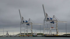 Cargo Loaders Stock Footage