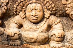Vamana avatar of Vishnu Stock Photos