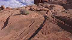 ARCHES NATIONAL PARK, erosion built the park Stock Footage