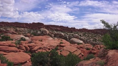 """Salt Valley Overlook"" ,ARCHES NATIONAL PARK Stock Footage"