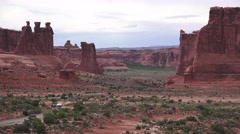 ARCHES NATIONAL PARK - stock footage