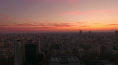Sunrise, Buenos Aires, Argentina Stock Footage