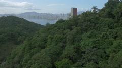 Aerial Image of Balneário Camboriú BC Beach North Side 007 Stock Footage