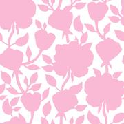 Floral seamless pattern. illustration for beautiful design - stock illustration