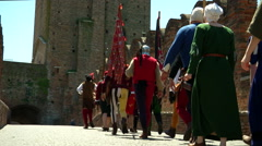Renaissance Army Stock Footage