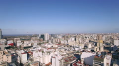 Cityscape, Buenos Aires, Argentina Stock Footage