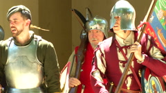Renaissance Army - stock footage