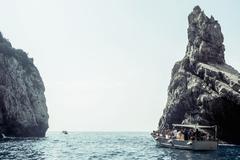 Faraglioni of Capri, Napoli, Campania, Italia - stock photo