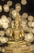 Buddha bokeh background Stock Photos