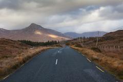 Connemara, Mountains, Ireland - stock photo