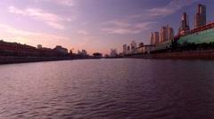 Rio de la Plata, Buenos Aires, Argentina Stock Footage