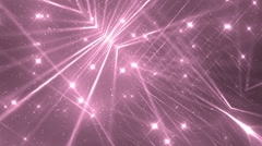 Floodlights Disco Pink Background. Stock Footage