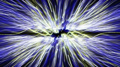 Electric Abstract Fibers Cable, Loop, 4k Stock Footage