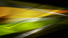 Abstract bright glossy stripes video animation - stock footage