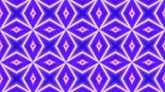 Kaleidoscope Abstract Disco Dance Lights Background, Loop, 4k Stock Footage