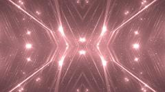 VJ Fractal red kaleidoscopic background. Stock Footage