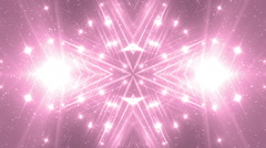VJ Fractal pink kaleidoscopic background. Stock Footage
