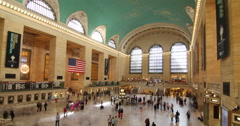 Grand Central Station, New York City, New York, USA Stock Footage