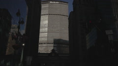 MetLife Building, Midtown Manhattan, New York City, New York, USA Stock Footage