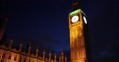 Big Ben, London, England, Great Britain - stock footage