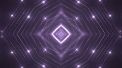 VJ Fractal violet kaleidoscopic background. Stock Footage